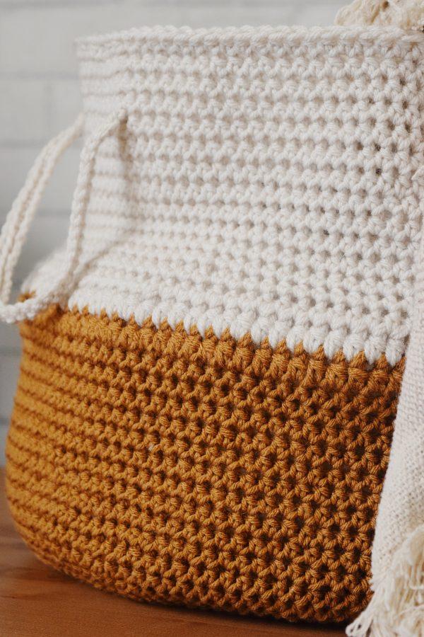 easy crochet basket pattern