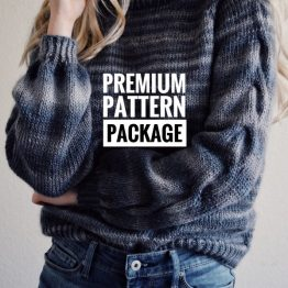 cable knit sweater pattern raglan