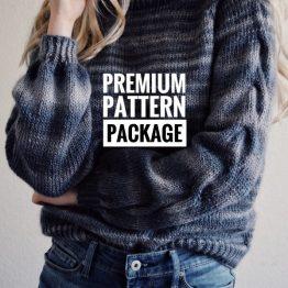 cable knit sweater pattern raglan