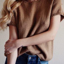 darling jadore teeshirt knit pattern