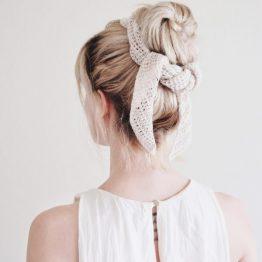 darling jadore crochet scarf pattern