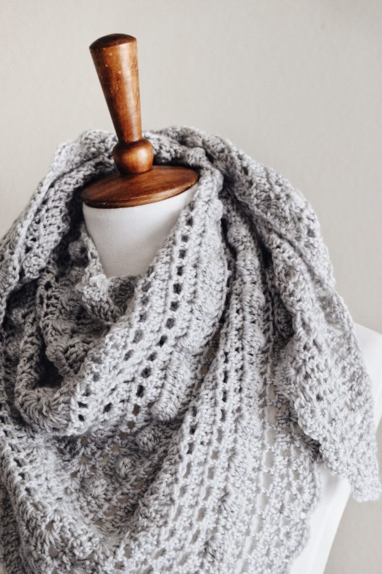 darling jadore lacy scarf pattern