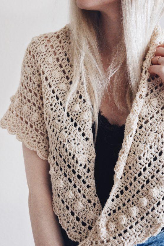 darling jadore bobble scarf pattern
