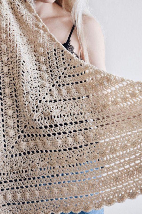 darling jadore crochet pattern scarf