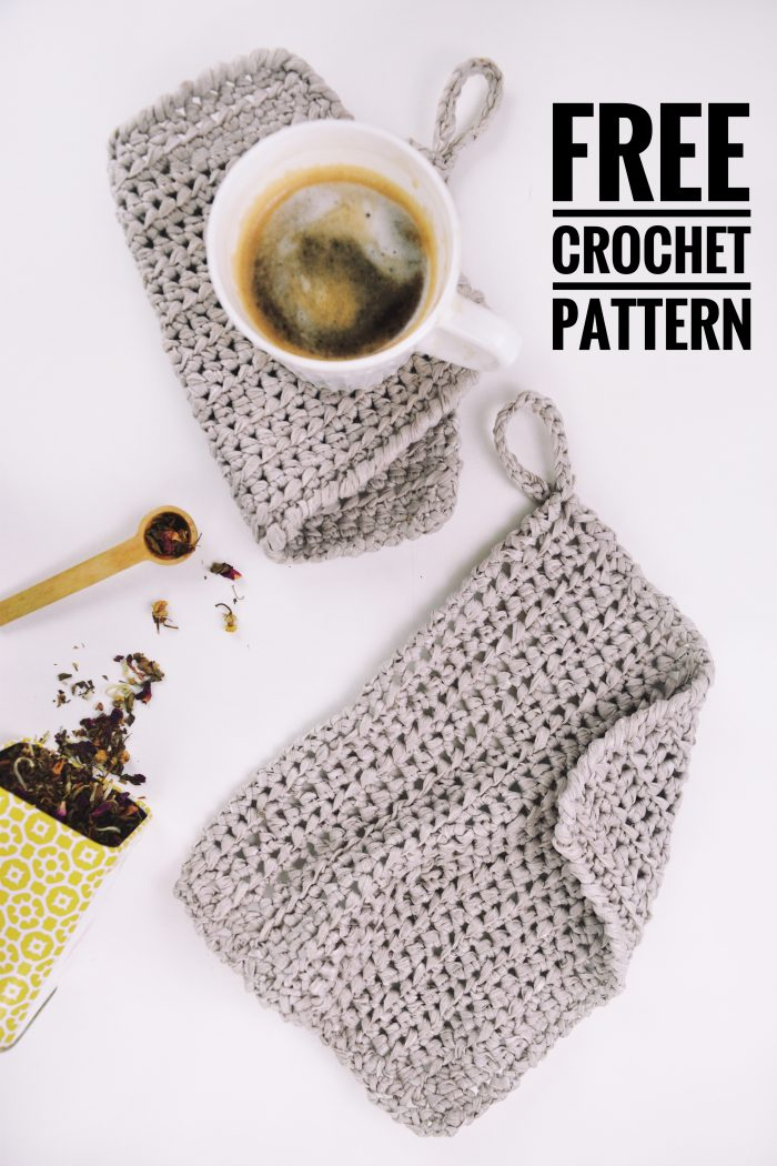 free crochet pattern kitchen decor