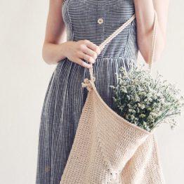 crochet pattern tote bag