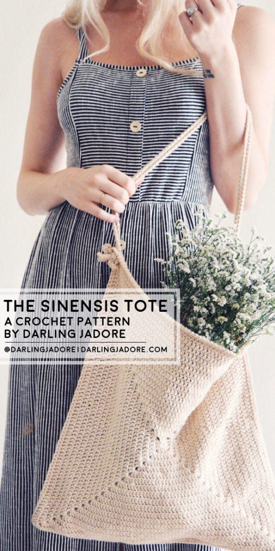 darling jadore sinensis tote bag