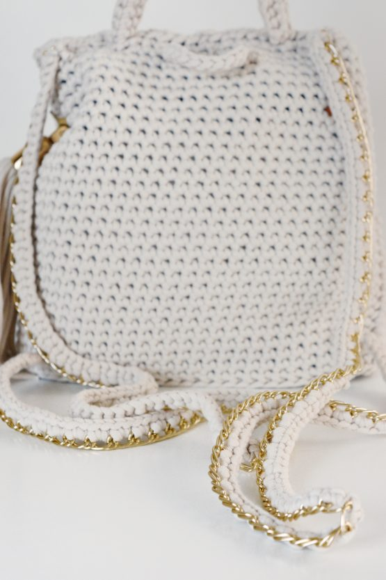 chain purse backpack pattern