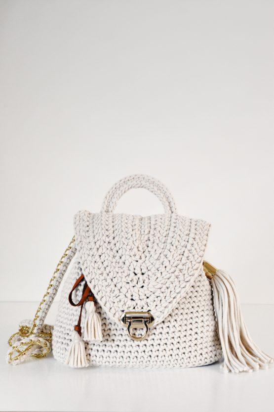 darling jadore bag purse backpack crochet pattern