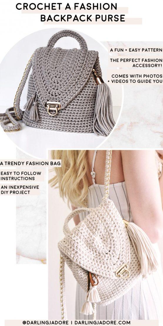 darling jadore backpack purse