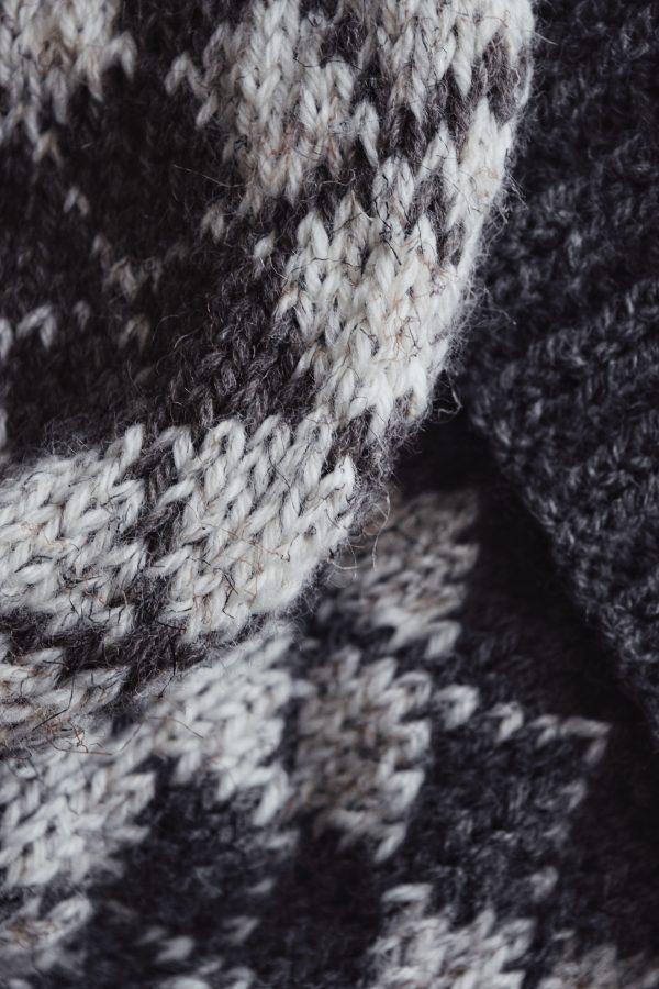 fair isle knit beanie pattern