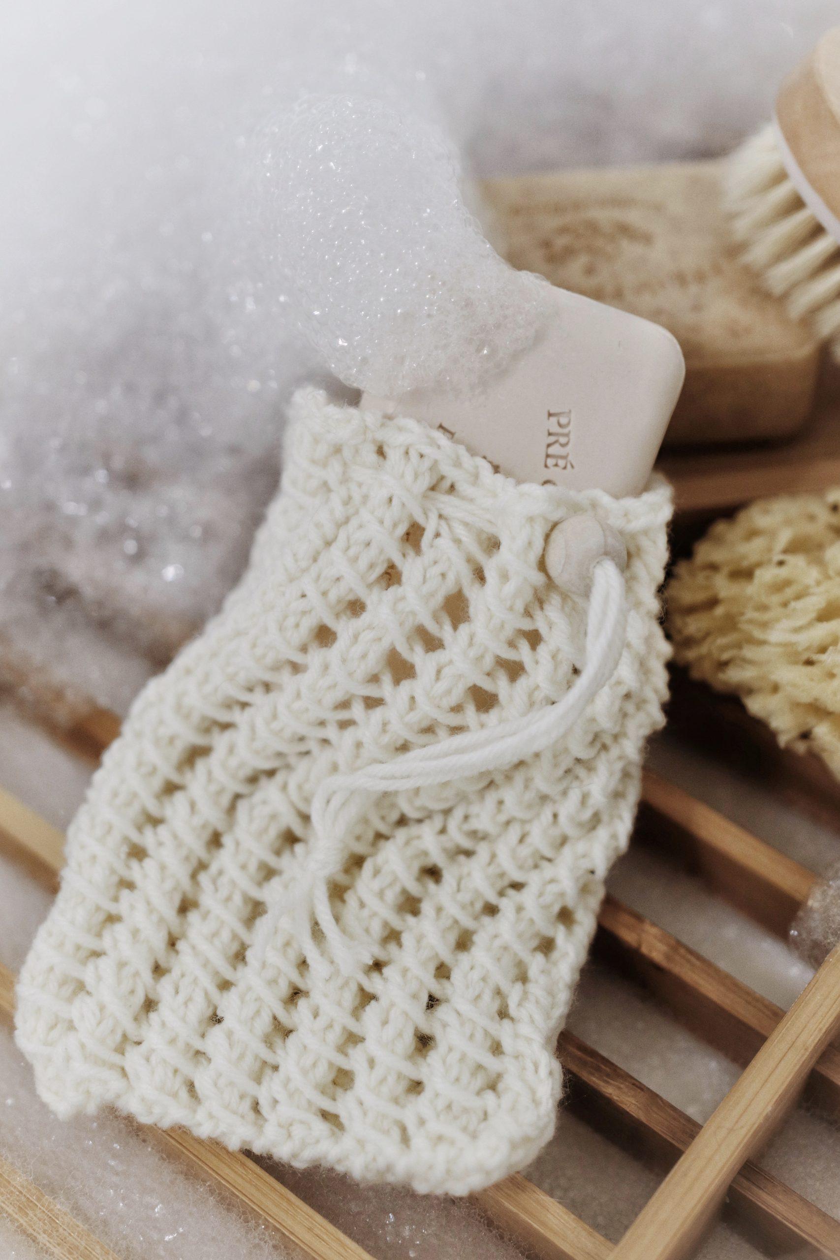 Sudsy Soap Saver Knitting Pattern, Darling Jadore Eco ...