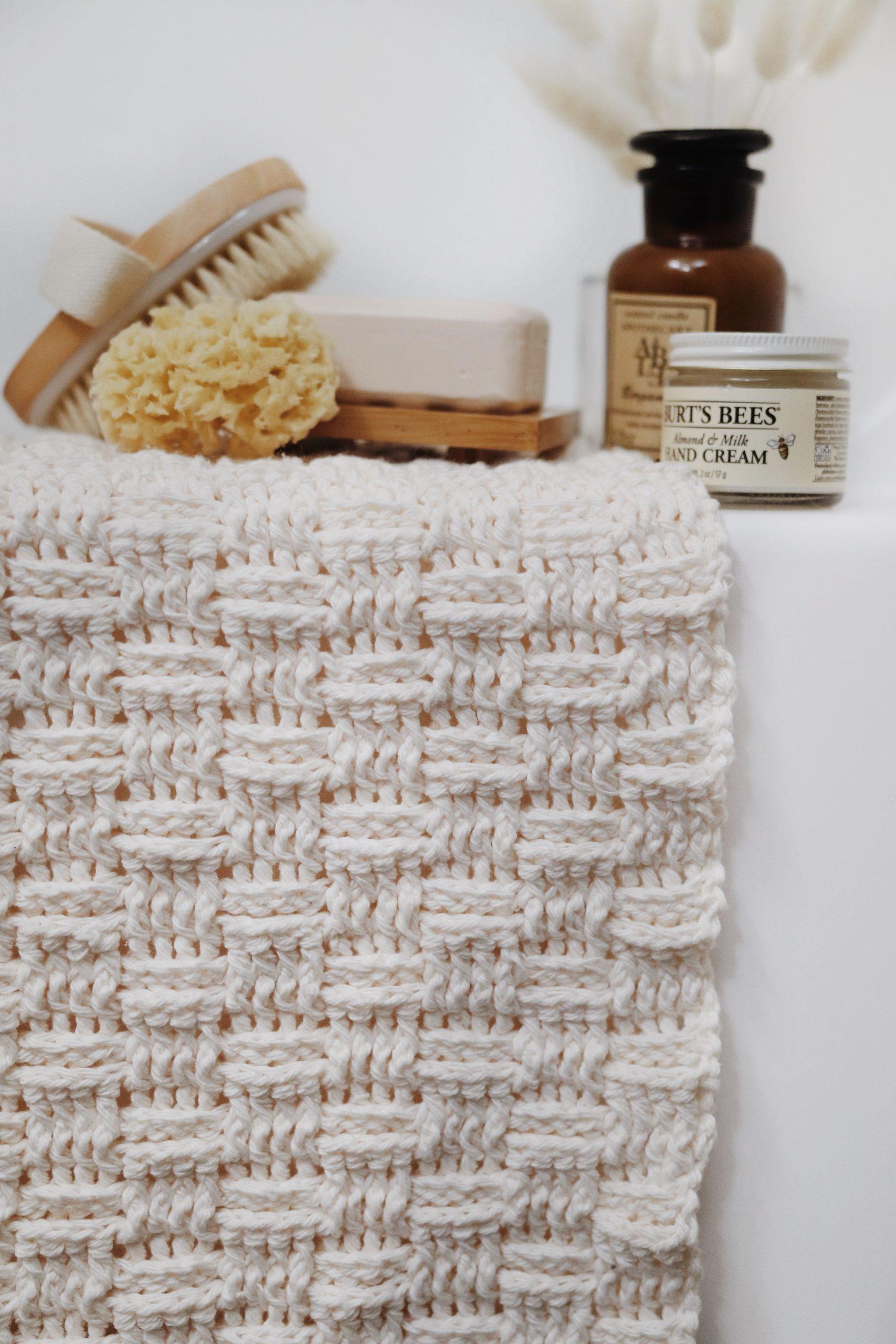 Daybreak Bath Mat Crochet Pattern Darling Jadore Eco Woven Bath Mat