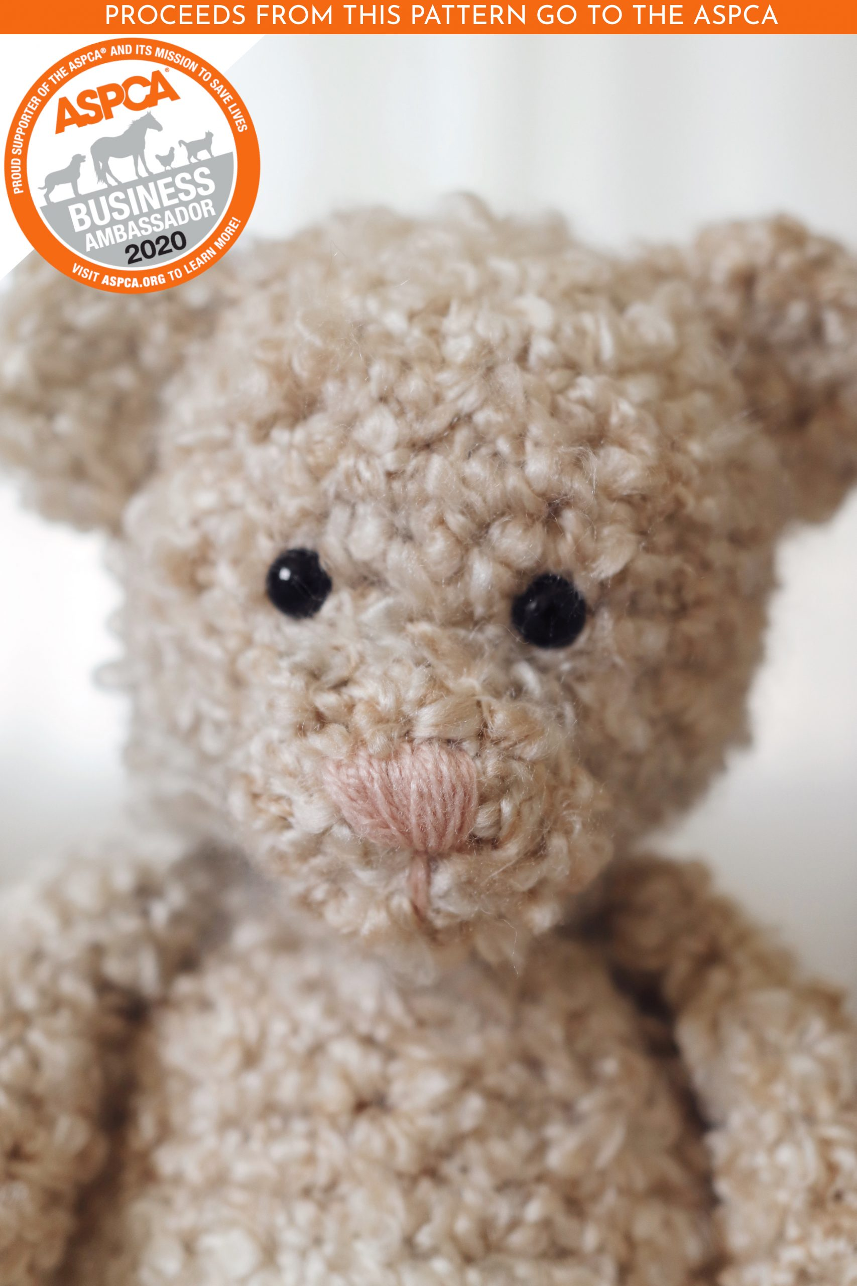 Crochet Bear Video Tutorial - YouTube | 2560x1707