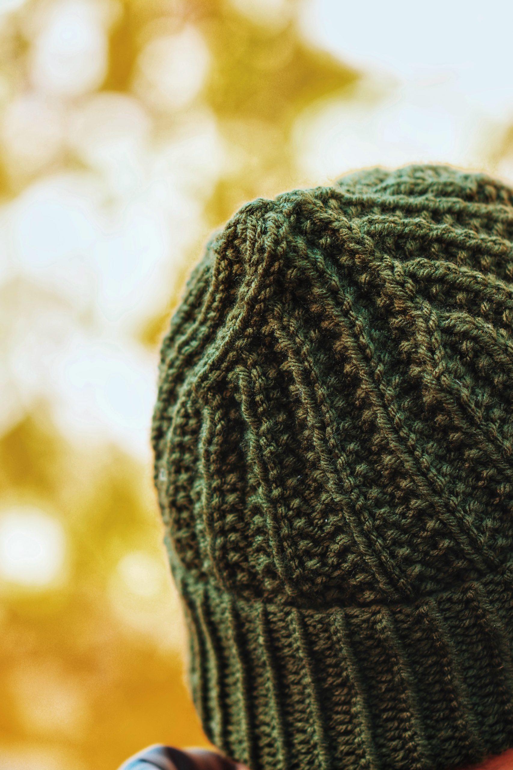 Wilderness Beanie Knitting Pattern, Men's Classic Rib ...